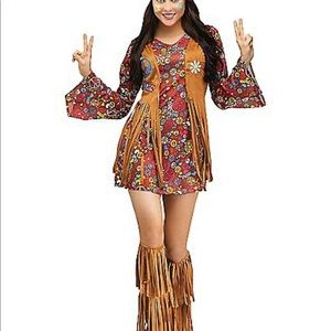 Peace and Love Hippie Halloween costume